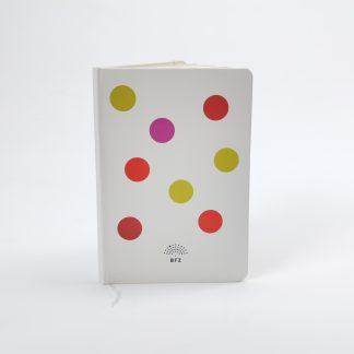 white dot notebook